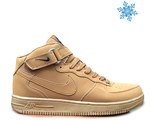 Nike Air Force С МЕХОМ желтые (41-45)