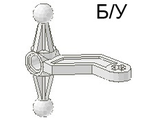 ! Б/У - Technic, Steering Arm Large, White (2737) - Б/У