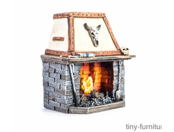 Fireplace (painted)