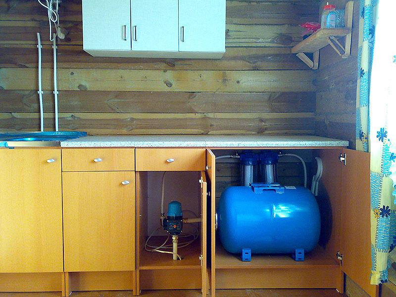 Установка водоснабжения на даче