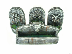 Antique fountains (painted)