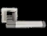 Дверные ручки Morelli DIY MH-35 SN/BN-S Цвет Белый никель/черный никель