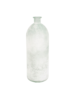 Ваза VASE LINOL WHITE D13.5X40CM GLASSарт.32189