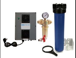Система обезжелезования воды до 11 мг на литр  для дачи ОЗОН (комплект) до питьевой