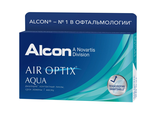 Air Optix Aqua 3 линзы