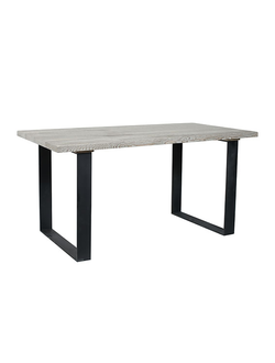 Стол TABLE ALPHONSE NATURAL 160X80X78CM PINE+METAL арт. 31267