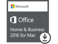 Электронная лицензия Microsoft Office 2016 Mac Home Business Onln W6F-00652