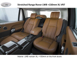 Various luxury elongated and armored SUVs based on Range Rover Vogue L405 SC SWB / EWB in VR7 and VR9, 2019-2020 YP