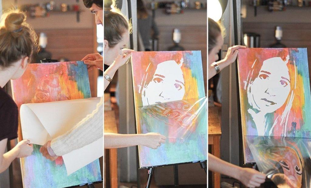 Флип-флоп портрет как сделать самим