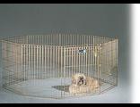 Вольер MIDWEST  8 панелей 61Х76 см, позолоченный цинк