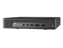 HP EliteDesk 800 G2 Mini Core i5-6500T,4GB DDR4-2133 SODIMM (1x4GB),500GB 7200 RPM,USB Slim kbd,USBmouse,Stand,BCM 802.11n BT,Win10 Professional+Win7 Professional(64-bit),3-3-3 Wty P1G15EA