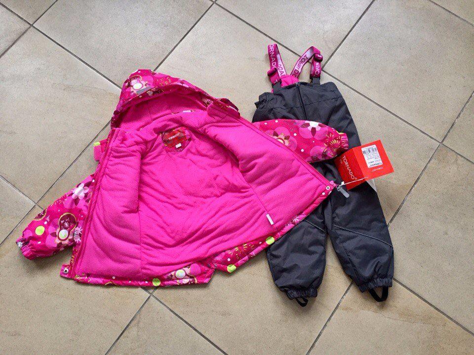 Весенняя коллекция детской одежды Tornado