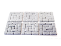 "Brickwork floor tiles 1.5"" №00 (unpainted)"