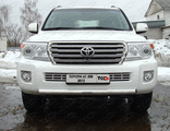 Toyota Land Cruiser 200 2012 Решётка радиатора 16 мм TOYLC20012-05