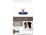 Hill's Prescription Diet Liver Care L/D Хиллс корм для собак при лечении заболеваний печени, 2 кг. Артикул: 8660U
