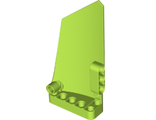 Technic, Panel Fairing #18 Large Smooth, Side B, Lime (64682 / 6182382)