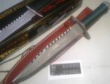 knife Rambo I original Stallone sign / нож Рембо 1 подписан С. Сталлоне
