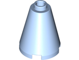 Cone 2 x 2 x 2 - Completely Open Stud, Bright Light Blue (3942c / 6056242 / 6092670)