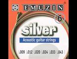 Emuzin Silver 6A202 Струны для акустической гитары