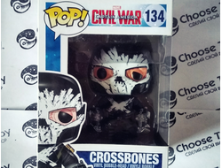 Funko POP! MARVEL Crossbones #134 - Коллекционная фигурка Фанко ПОП! МАРВЕЛ КРОССБОУНС #134