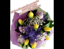 Букет с Тюльпанами Весеннее Настроение