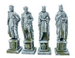 FOUR KINGS STATUES (painted) (SPECIAL OFFER)