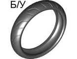 ! Б/У - Tire 94.2mm D. x 22mm Motorcycle Racing Tread, Black (88516 / 4567999) - Б/У