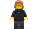 Coast Guard City - Surfer in Wetsuit, Dark Orange Tousled Hair, Crooked Smile, n/a (cty0407)