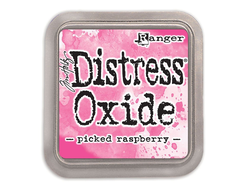 Picked Raspberry, oxide distress, Ranger