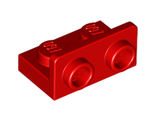 Bracket 1 x 2 - 1 x 2 Inverted, Red (99780 / 6089698)