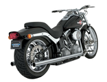 16893 Vance&Hines EXHAUST SYSTEM SOFTAIL DUALS CHROME