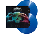 IN FLAMES Battles 2LP blue