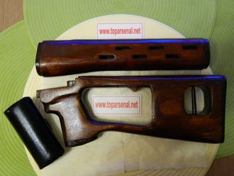 Tigr/SVD wood set butt stock and forend authentic Izhmash for sale
