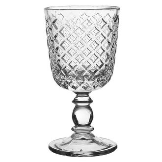 Бокал STEMMED GLASS ARLEQUIN 28CL GLASS
