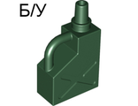 ! Б/У - Duplo Utensil Gas Container 1 x 2 x 2, Dark Green (45141 / 4222130) - Б/У