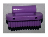 Friends Accessories Brush Oval, Large, Lavender (92355i / 6150317)