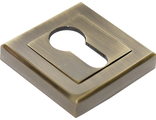 Накладка на ключевой цилиндр RUCETTI RAP KH-S AB Цвет Античная бронза