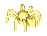 Spider with Elongated Abdomen, Bright Light Yellow (29111 / 6209946)
