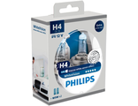 PHILIPS H4 intense white xenon effect +W5Wx2