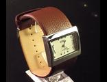 Часы на коричневом браслете (№400)