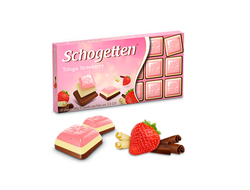 Schogetten Trilogia Strawberry 100g (Германия)