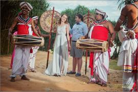 Выездная свадьба Елены и Антона, остров Шри-Ланка