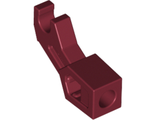 Arm Mechanical, Exo-Force / Bionicle, Thick Support, Dark Red (98313 / 6006738)