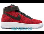 Кроссовки Nike Air Force красные