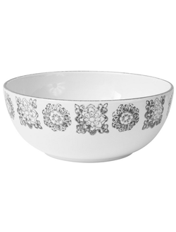 Салатник SALAD BOWL   FARO GREY D25CM EARTHENWARE 30540
