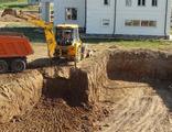 Вывоз грунта, разработка котлованов