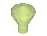 Rock 1 x 1 Jewel 24 Facet, Trans-Bright Green (30153 / 6147054 / 6247800)