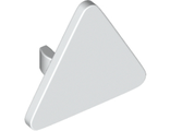 Road Sign 2 x 2 Triangle with Clip, White (892 / 4190516 / 4540294 / 6287901 / 6317569)