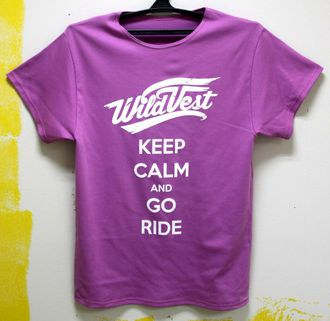 Футболка WildVest KeepCalm Brightlilac