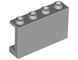 Panel 1 x 4 x 2 with Side Supports - Hollow Studs, Light Bluish Gray (14718 / 6061675)
